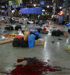 The bloodbath at The Chhatrapati Shivaji Terminus